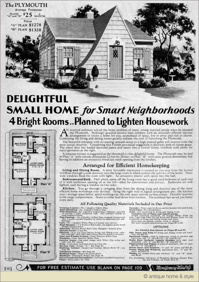1930 house designs House design