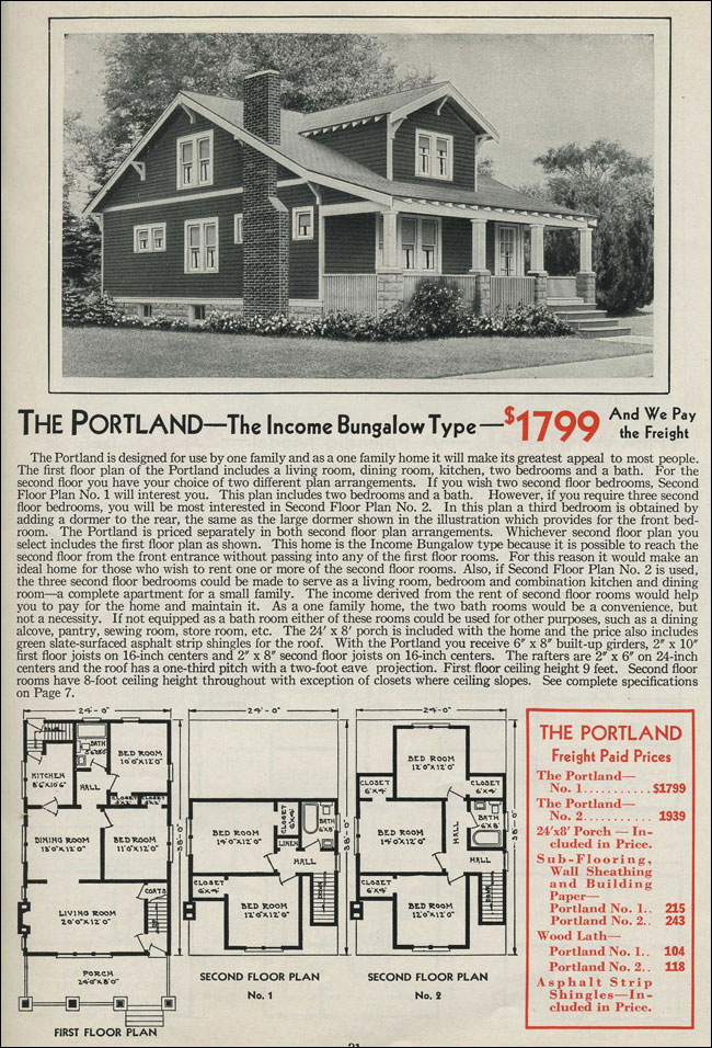 ALADDIN HOMES HOUSES 1920 CATALOG BOOK no. 32 READI-CUT PRE-FAB HOUSES VINTAGE