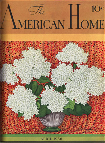 1936 American Home Cover for October