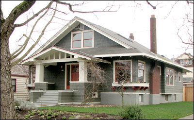 Bungalow architecture what is bungalow style small for Styles of homes built in 1900