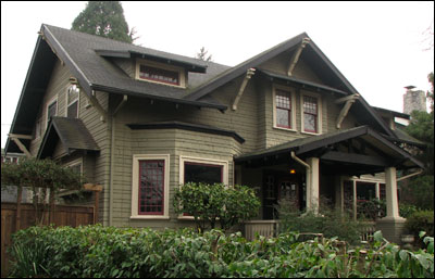 What is craftsman style bungalow arts crafts for Craftsman style architects