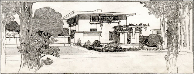 1907 Fireproof House - FLW