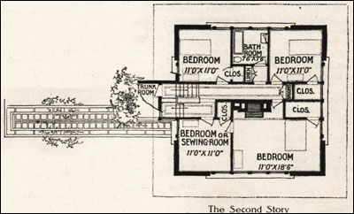 A Fireproof House for $5000 - Frank Lloyd Wright - 1907 Ladies ...