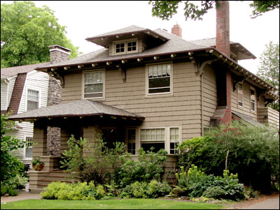 The American Foursquare | Old House Web Blog