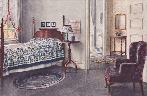 1924 Armstrong Bedroom
