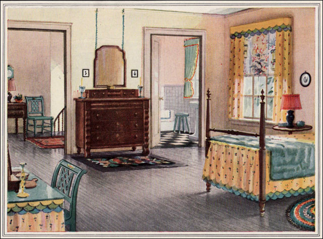 1925 armstrong traditional bedroom 1920s traditional for Room decor 1920s