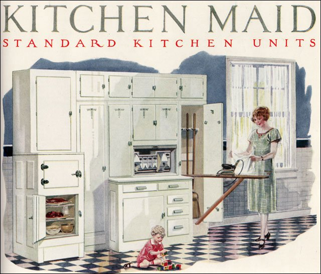 1924 Kitchen Maid Cabinetry 1920 Built In Kitchen Center