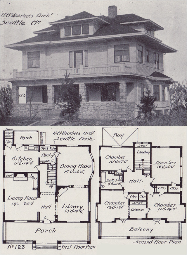 1920s floor plans thefloors co for Western home plans