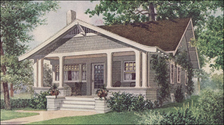 1912 Bungalow Las Home Journal
