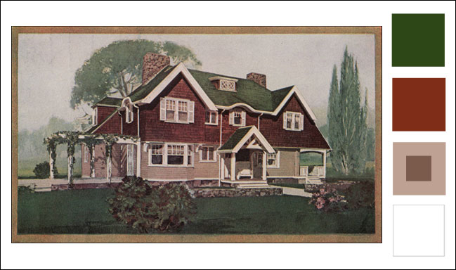 1911 Sherwin Williams House Paint