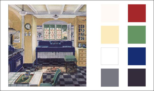 1930 Crane Kitchen House Amp Garden Magazine 1930s