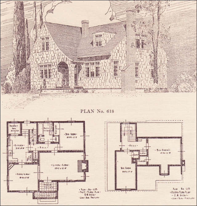 Pictures Of English Cottages From The 1920 S With Attached: The Portland Telegram