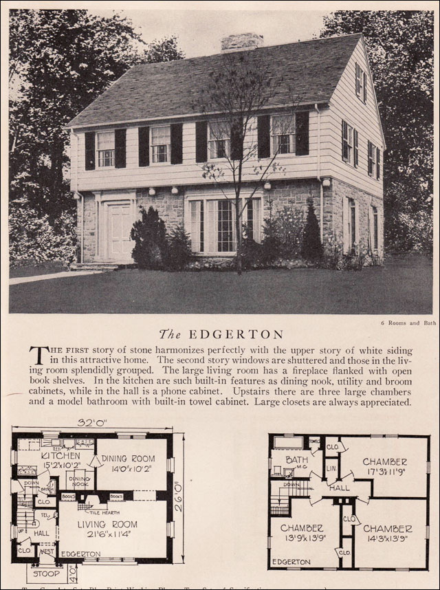 American Residential Architecture House Plans 1929