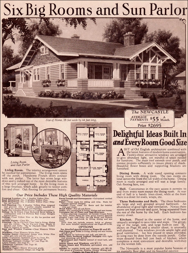 1930 Half Timbered Bungalow Newcastle By Wardway Kit