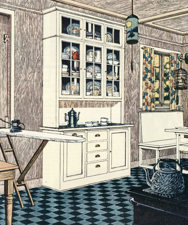 1920s Kitchen Gallery Kitchen Flooring Cabinetry Nooks