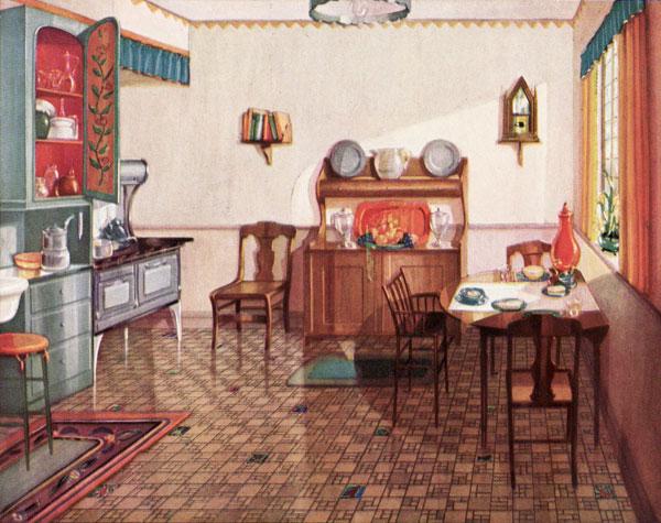 1920s Kitchen Gallery Kitchen Flooring Cabinetry Nooks